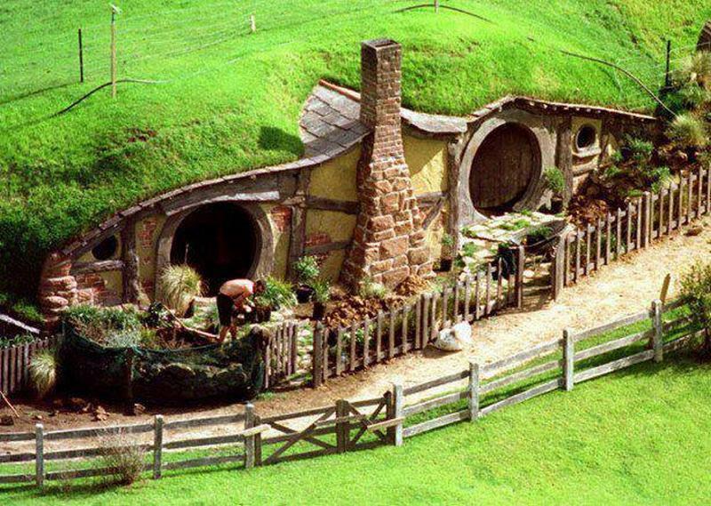 Hobbit homes the owner builder network for Hobbit house drawings