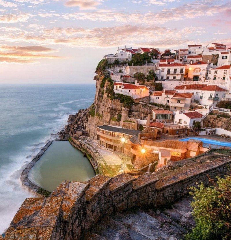 Living on the Edge - Azenhas Do Mar, Sintra, Portugal