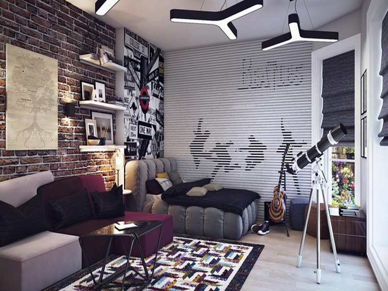 Teen dreams the owner builder network for Beatles bedroom ideas