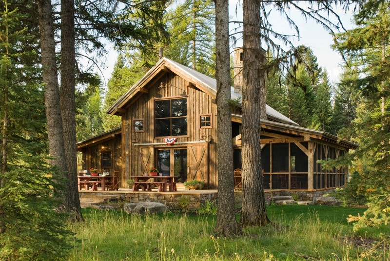 montana mountain retreat the owner builder network. Black Bedroom Furniture Sets. Home Design Ideas