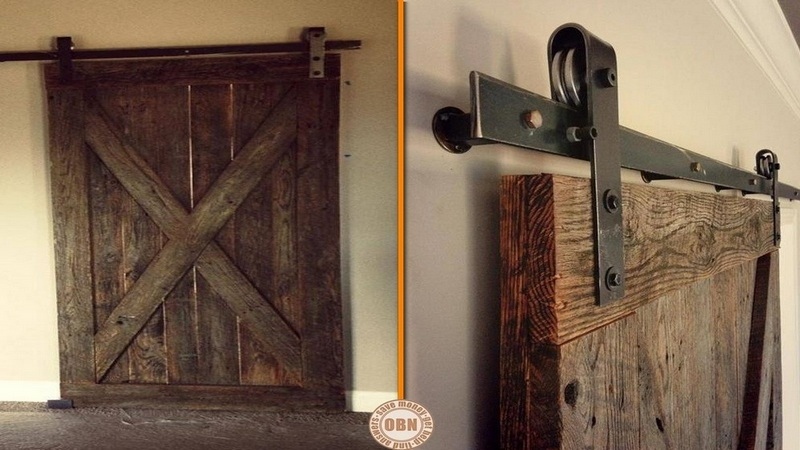 What are your thoughts on this repurposed barn door?