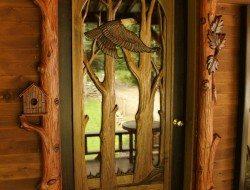 Hand Carved Door Frame