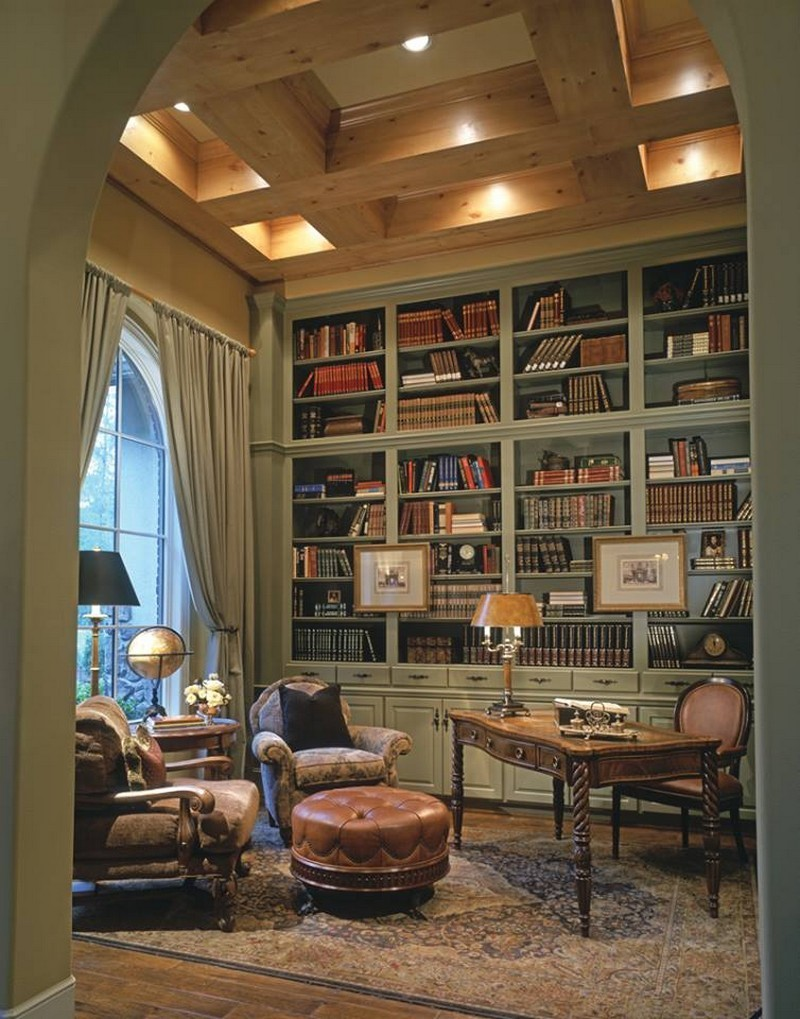 Home Library Room: The Owner-Builder Network