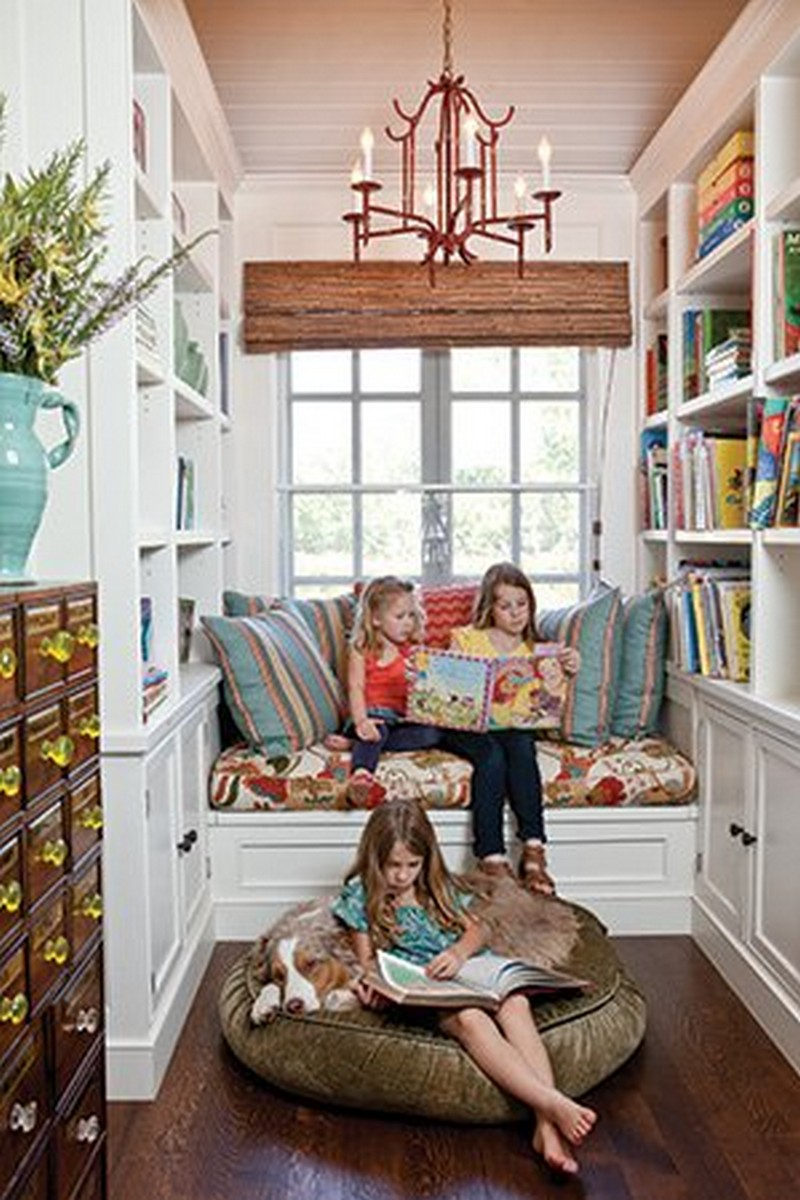 Small House Library Room Designs: The Owner-Builder Network