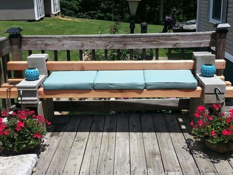 DIY Cinder Block Outdoor Bench The Owner Builder Network : Cinder Block Outdoor Bench Samples 02 from theownerbuildernetwork.co size 800 x 600 jpeg 128kB
