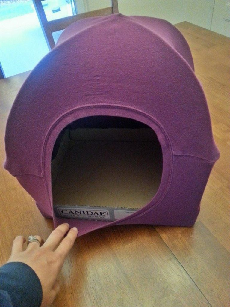 Diy cat tent the owner builder network for How to make a cat bed easy