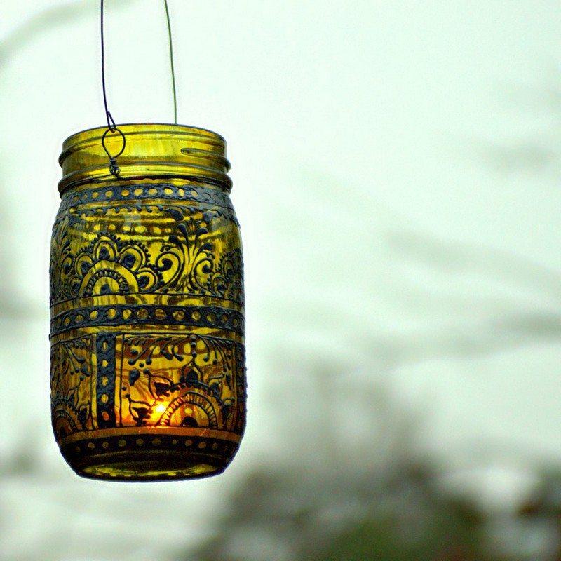 Diy Mason Jar Lantern The Owner Builder Network
