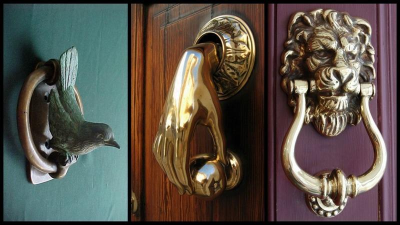 Unique Door Knockers