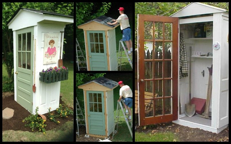 Diy Four Door Shed