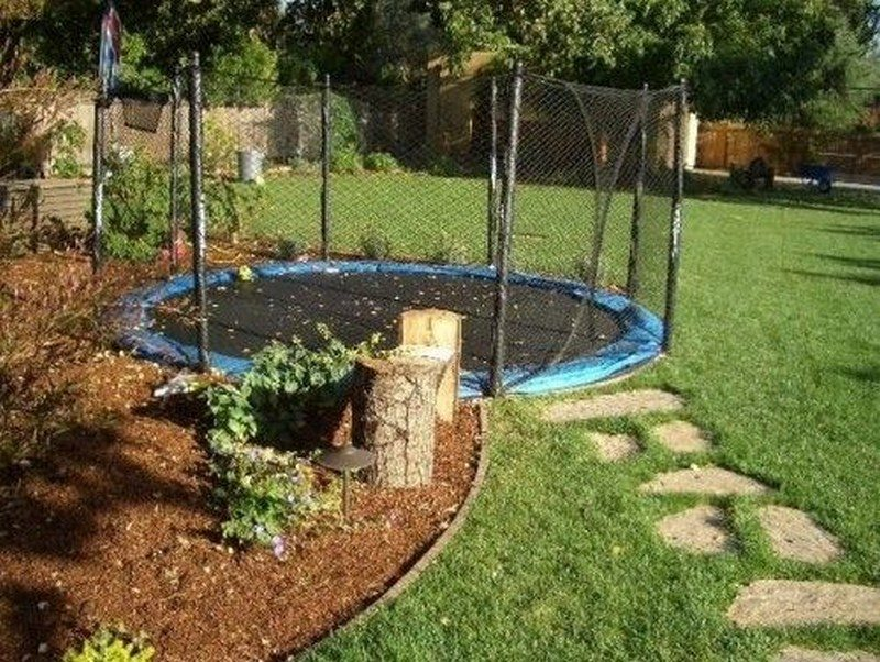 Diy Inground Trampoline The Owner Builder Network