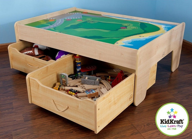Boat Bed With Trundle And Toy Box Storage: Toy Storage