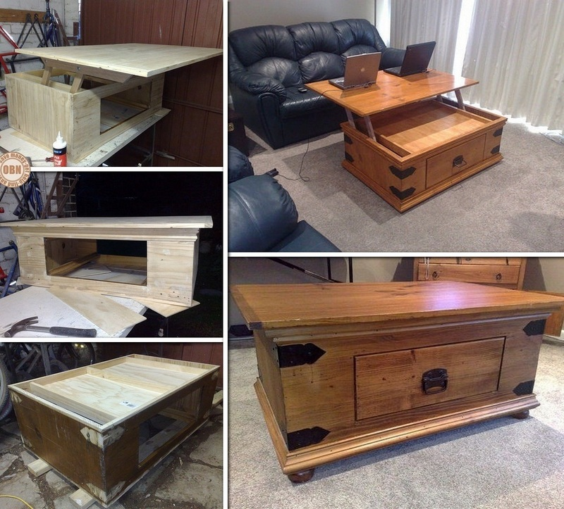 Plans to build a lift top coffee table pdf woodworking for Lift top coffee table building plans