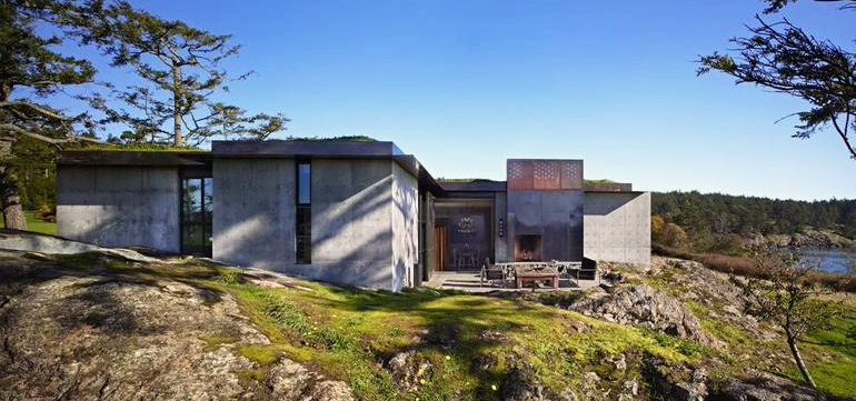 The Pierre Concrete House