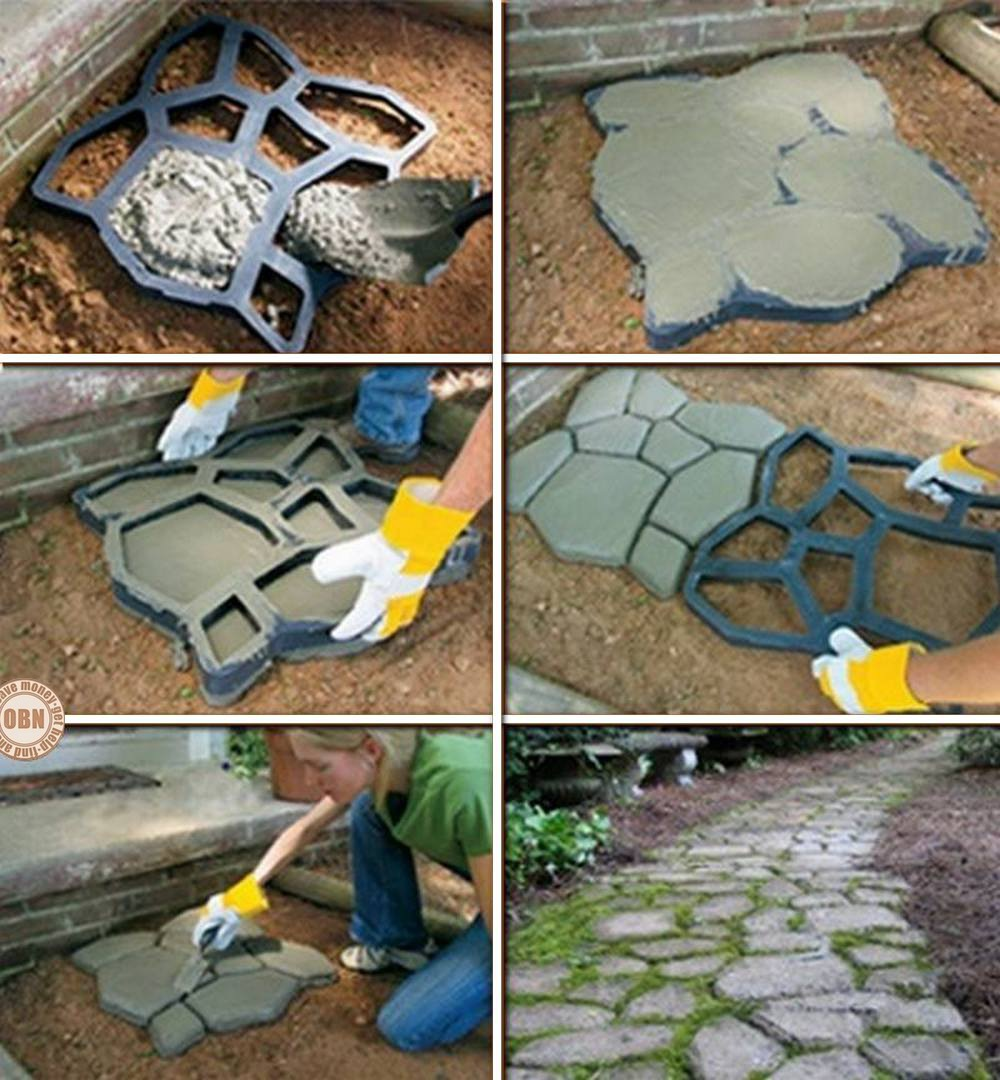 The Owner Builder Network: DIY Paved Patio