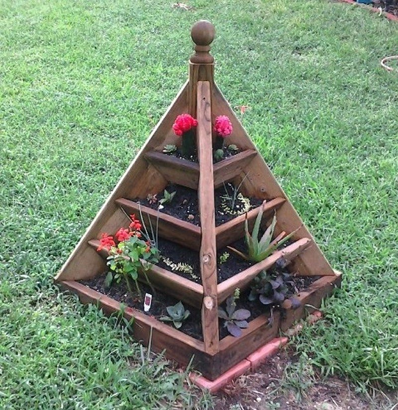 How To Make A Strawberry Pyramid Planter The Owner