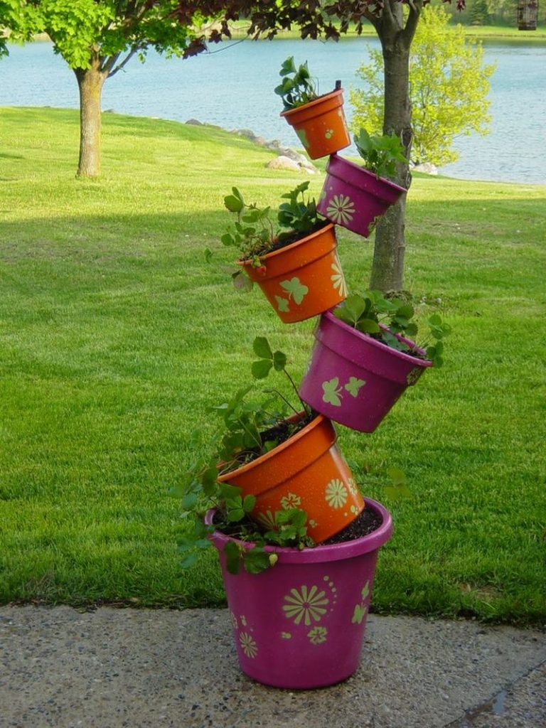 Diy Topsy Turvy Herb Garden The Owner Builder Network