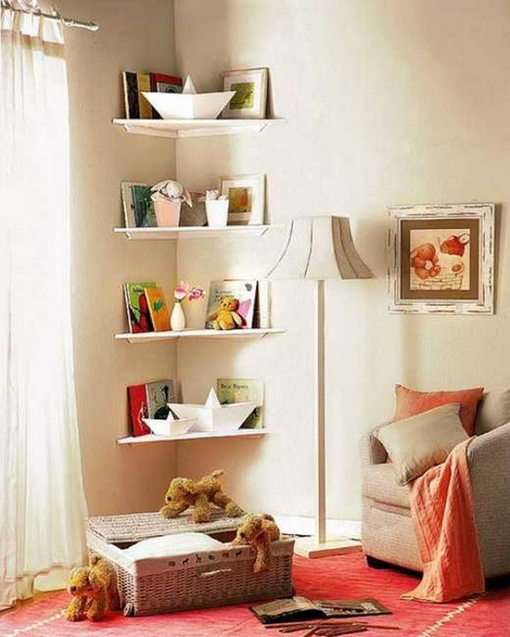 Corner Shelves   The Owner-Builder Network