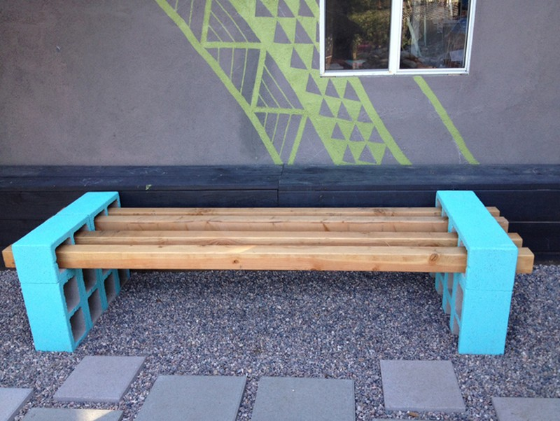 Permalink to diy outdoor bench seat plans