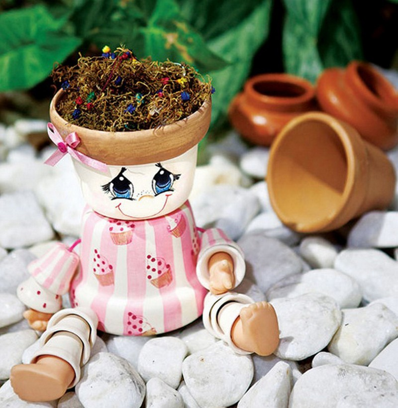 Clay Pot Dolls: DIY Clay Pot Flower People