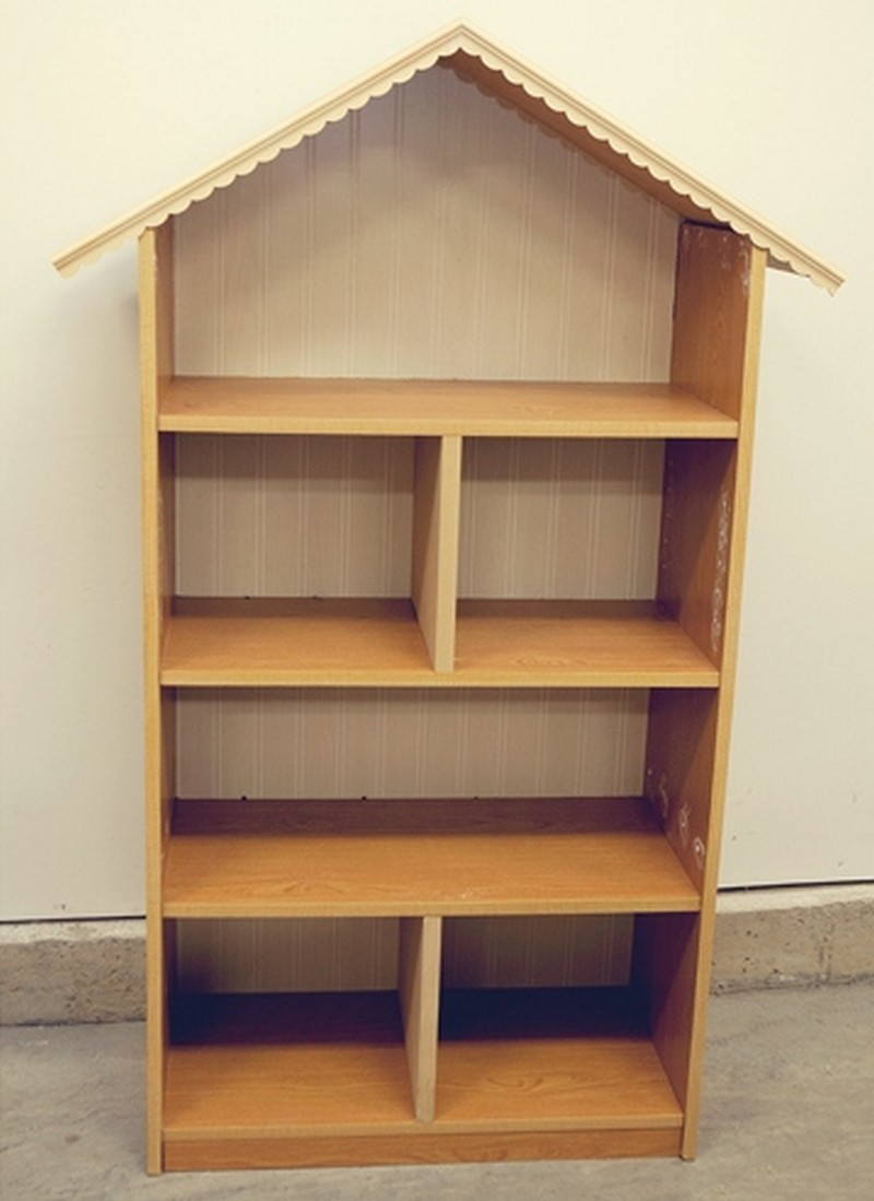 Bookshelf Barbie House Dollhouse bookcases p1060242 diy dollhouse ...