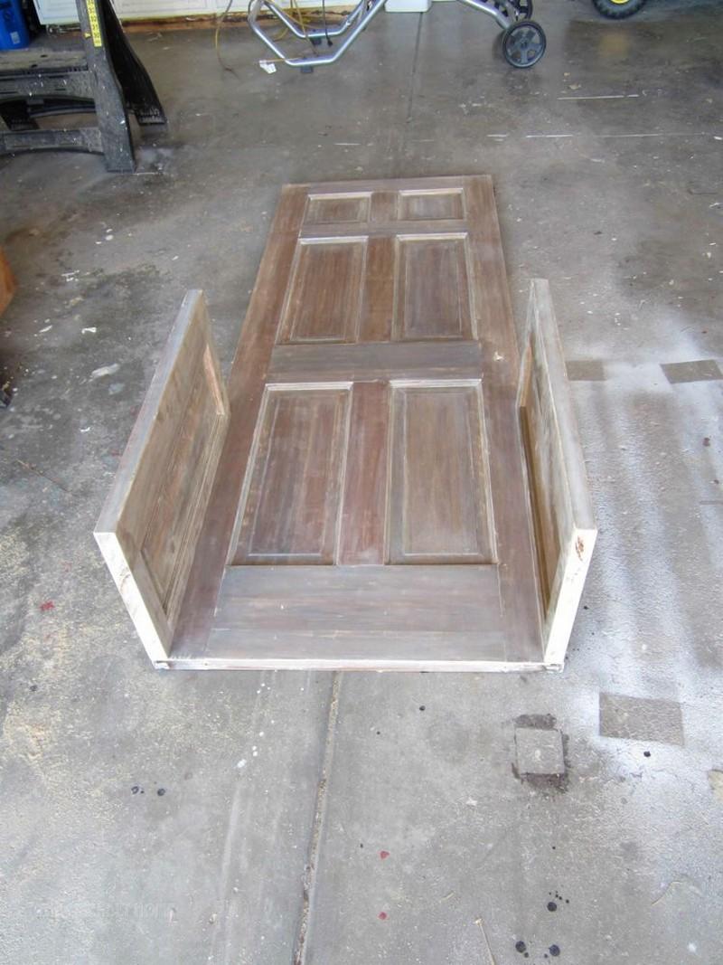 entry door bench plans