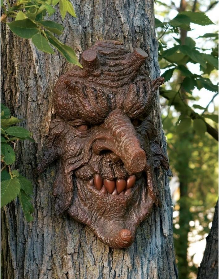 Лица из дерева своими руками