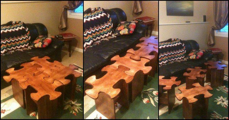 Jigsaw Coffee Table