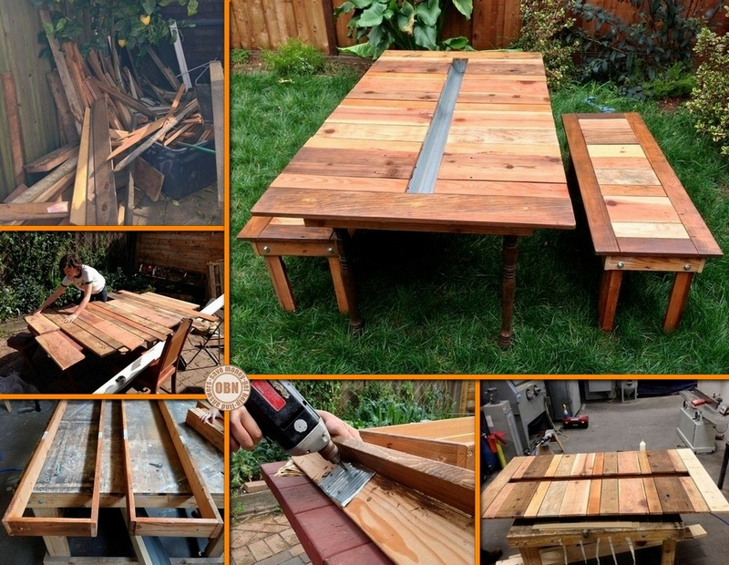 Cool Round Diy Picnic Table Pictures to pin on Pinterest