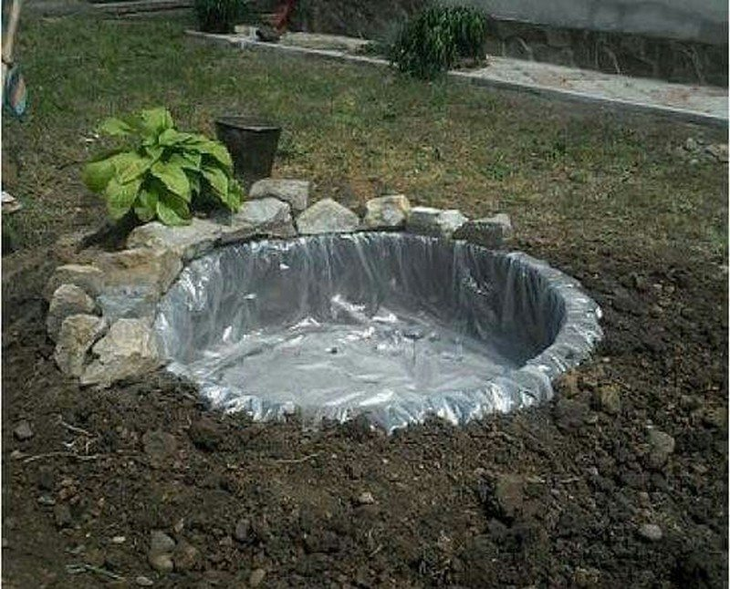 Diy Recycled Tires Pond The Owner Builder Network