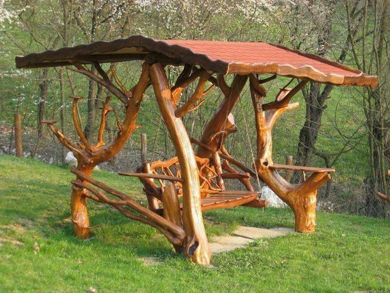 Rustic Log Swings The Owner Builder Network