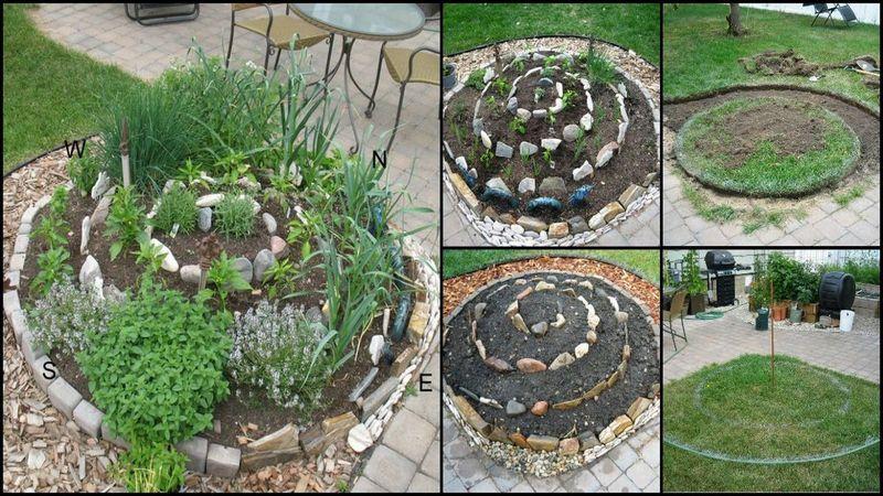 How to Make a DIY Spiral Herb Garden