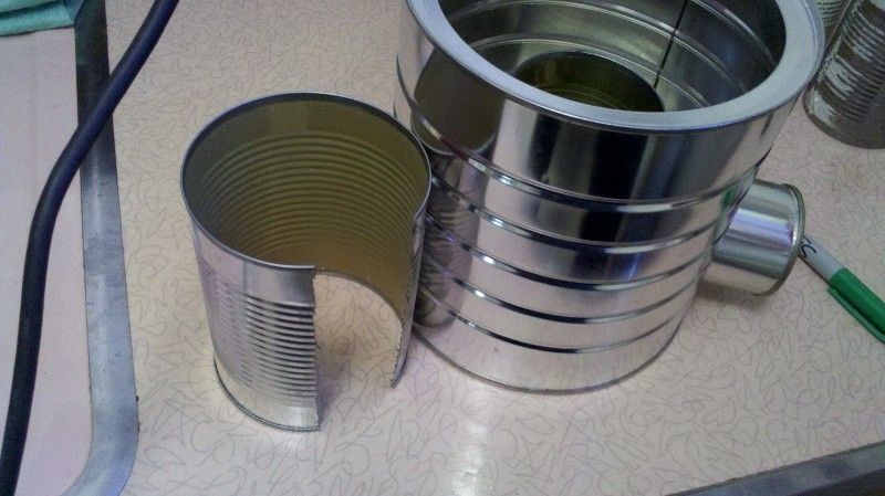 Tin can rocket stove search results the owner builder for Tin can rocket stove