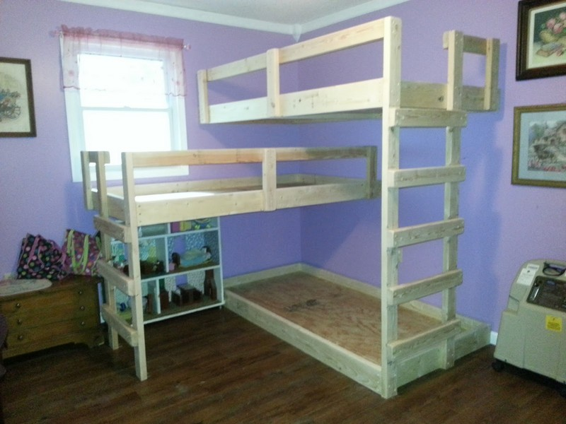 PDF DIY Bunk Bed Plans Triple Download bunk bed plans dorm