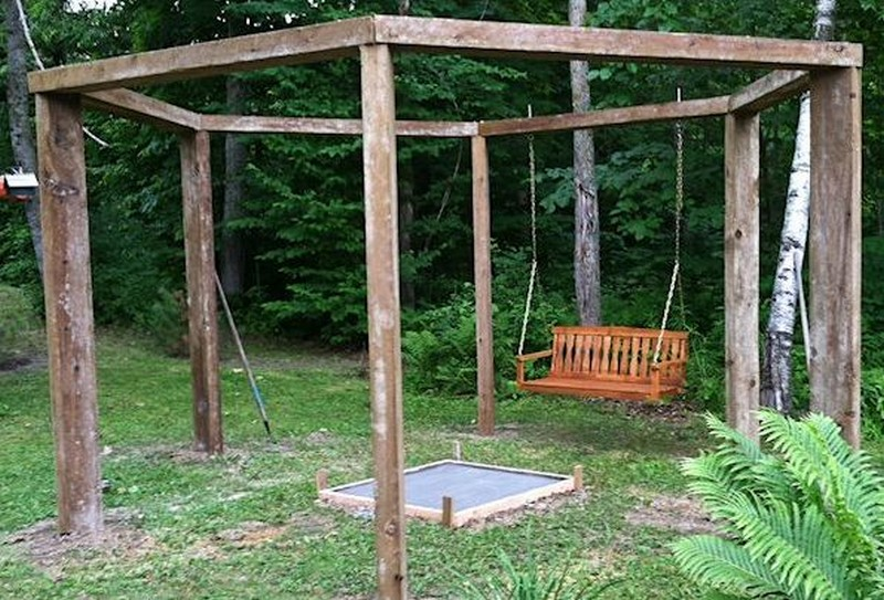 Fire pit furthermore homemade fire pit also diy fire pit swing set