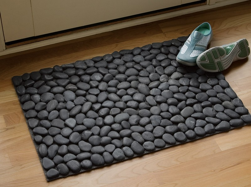 How to Make a DIY River Rock Doormat | The Owner-Builder ...