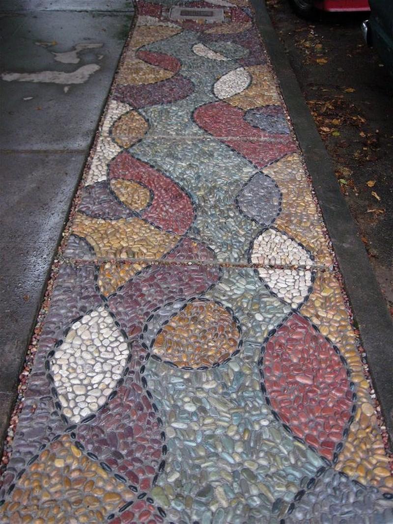 Yard Stepping Stones Walkways