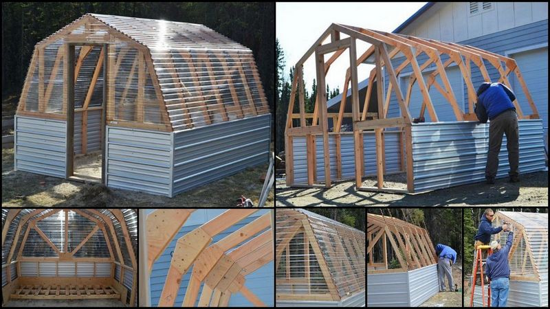 Diy Barn Greenhouse