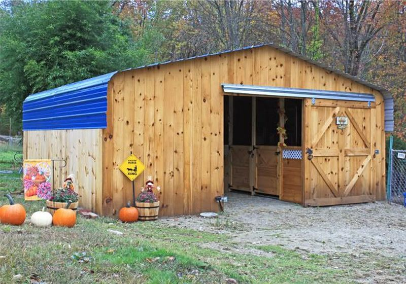 Turn a Carport Into a Barn | The Owner-Builder Network