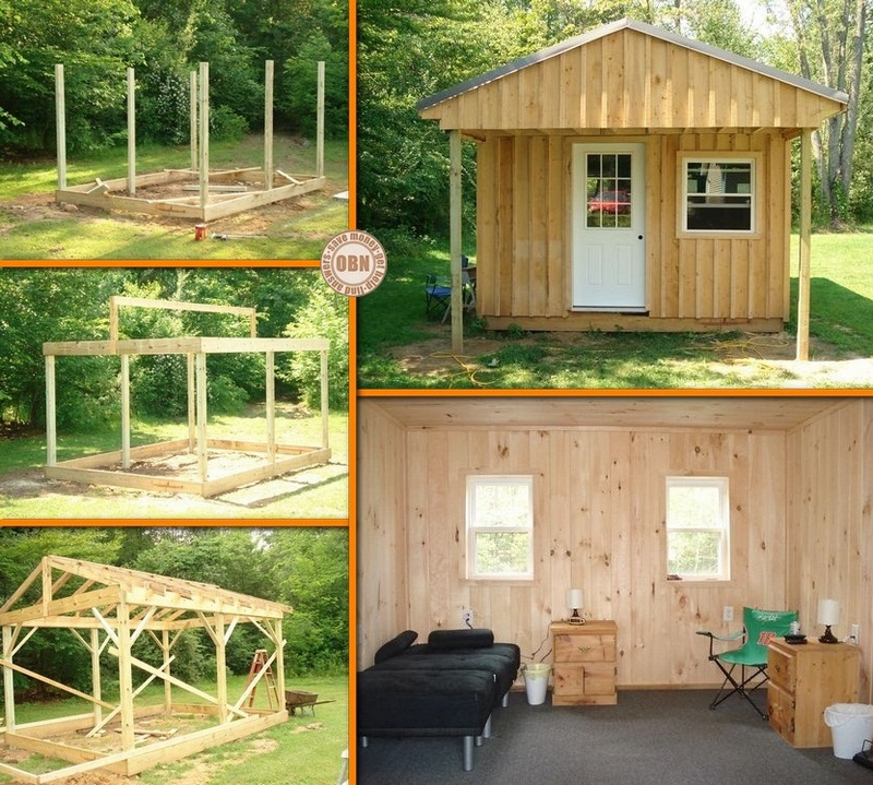 Diy cabin joy studio design gallery best design for Diy cabins and cottages