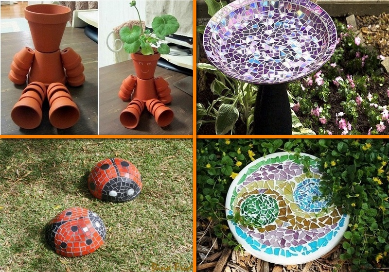 Diy garden projects the owner builder network for Simple diy garden designs