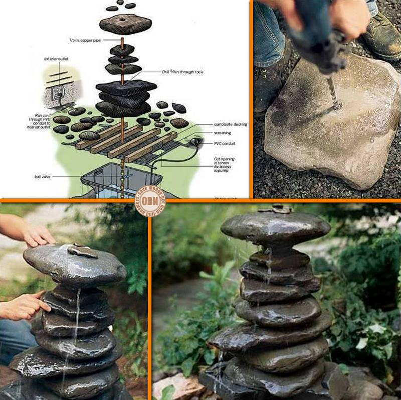 Beautiful DIY Zen Water Fountain Do It Yourself Fun Ideas