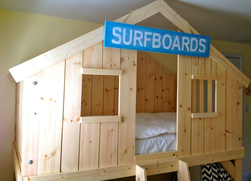 Diy Clubhouse Bed The Owner Builder Network