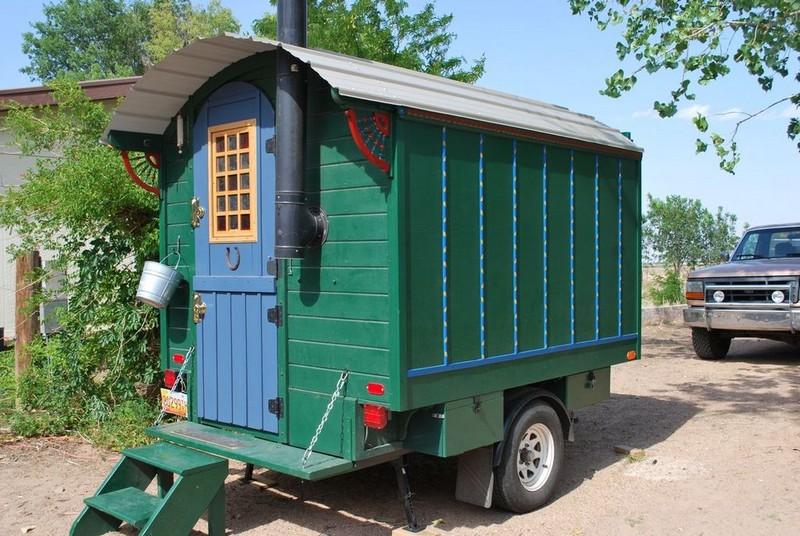Прицеп дом на колесах