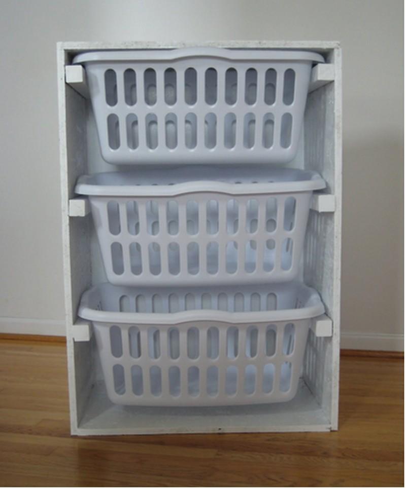 Diy Laundry Basket Dresser The Owner Builder Network