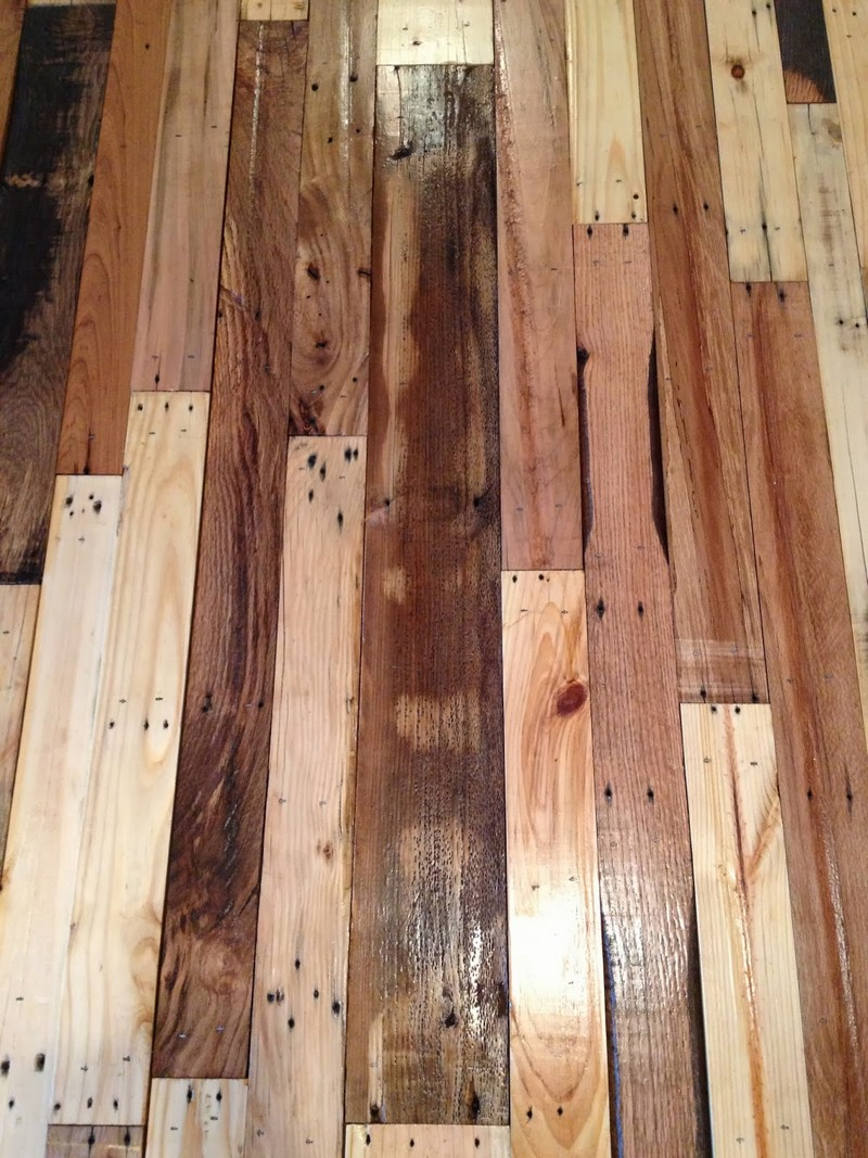 DIY Pallet Flooring | The Owner-Builder Network