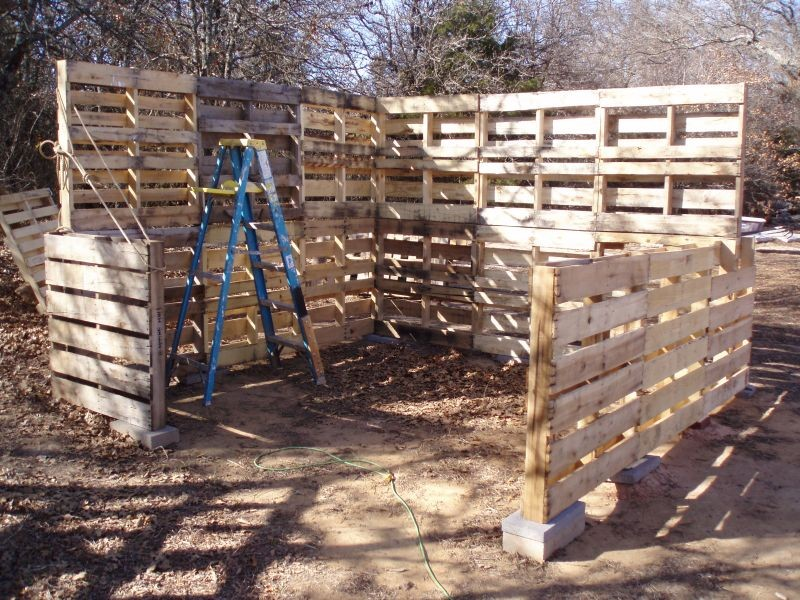 Diy Pallet Shed The Owner Builder Network