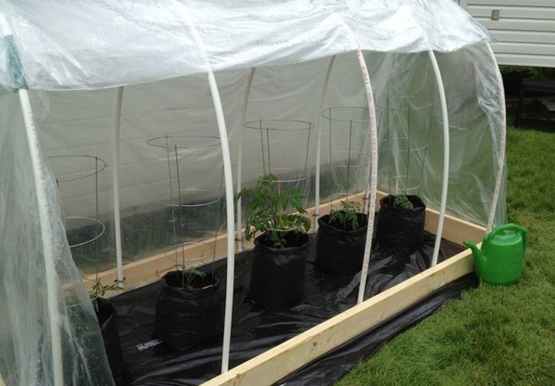 DIY Raised Garden Bed With Cover The Owner Builder Network