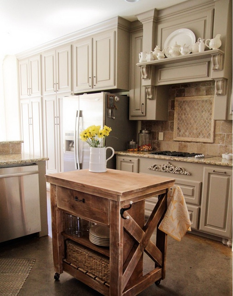 diy rustic kitchen islands viewing gallery