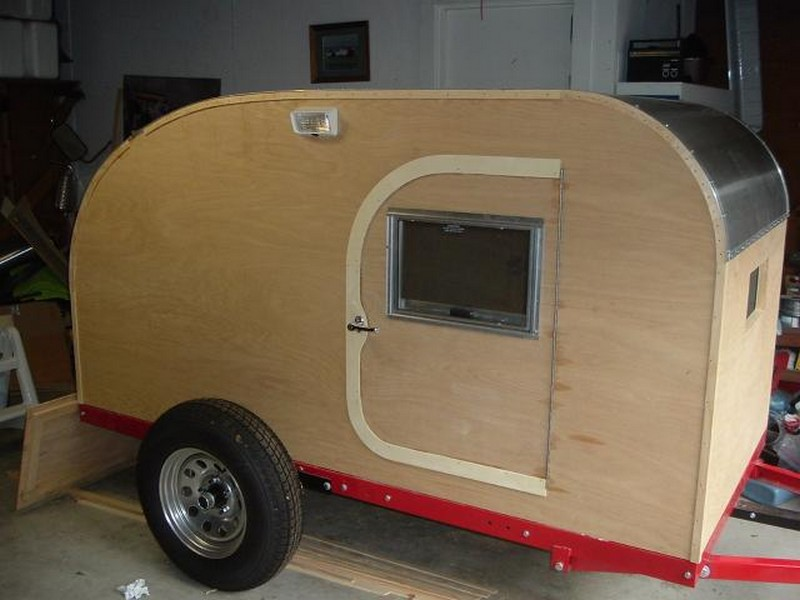 Build Your Own Teardrop Trailer From The Ground Up The