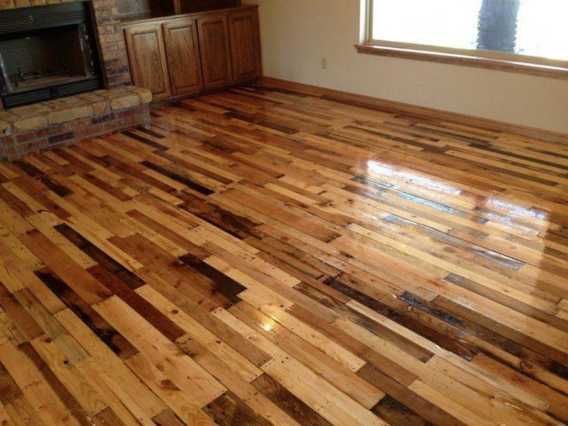 diy pallet flooring the owner builder network. Black Bedroom Furniture Sets. Home Design Ideas